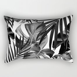Tropical Jungle Leaves Pattern #10 #tropical #decor #art #society6 Rectangular Pillow