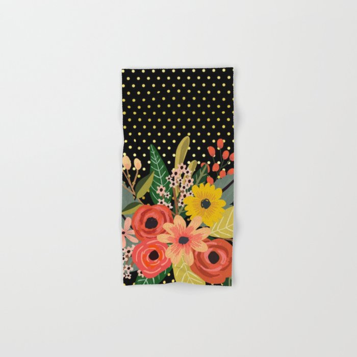 Flowers bouquet #2 Hand & Bath Towel