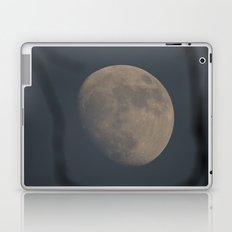Moon at Three-Quarters Laptop & iPad Skin