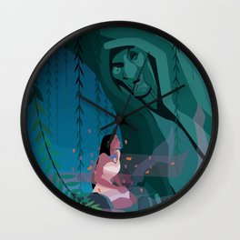 Pocahontas Spirit Wall Clock