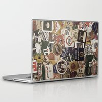 coasters Laptop & iPad Skins featuring Beer by Nicklas Gustafsson