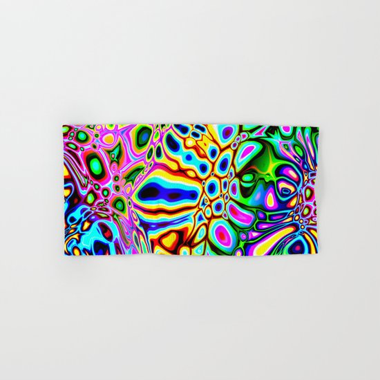 Spectral Abstract Hand & Bath Towel