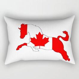 """Horse """"Canada"""" #2 Rectangular Pillow"""