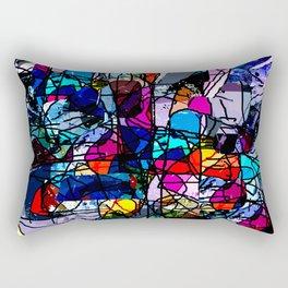 Hinterglasmalerei Rectangular Pillow