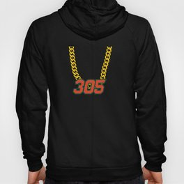 305 Miami Swagger Necklace Hoody