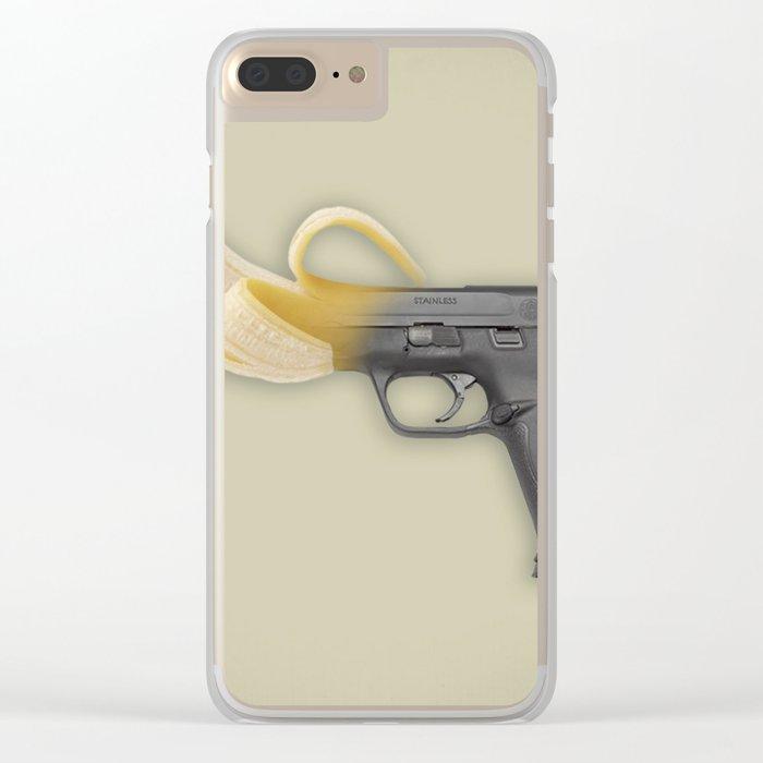 Banana Rebublic Clear iPhone Case