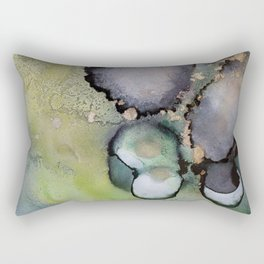 Citrine Moss Rectangular Pillow