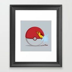 The new skill Framed Art Print