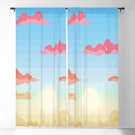 Changing Skies Blackout Curtain