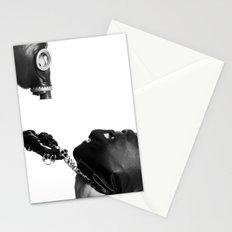 Posthuman fetish Stationery Cards