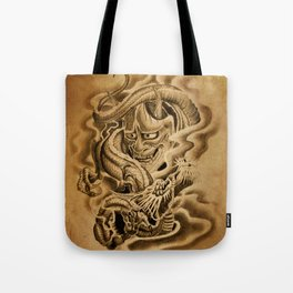 Hannya Dragon Tote Bag