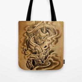 Hannya Dragon Tote Bag