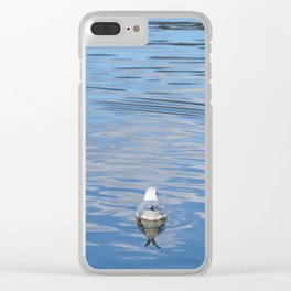 Lonesome Clear iPhone Case