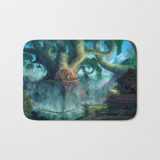 Lost Civilization Bath Mat
