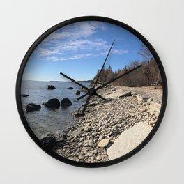 Mâove Mornings Wall Clock