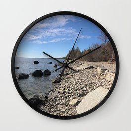 Mâove Mornings Wall Clock