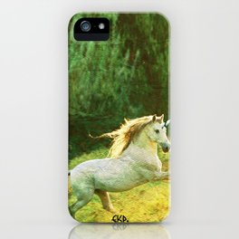 Horsey Business. iPhone Case