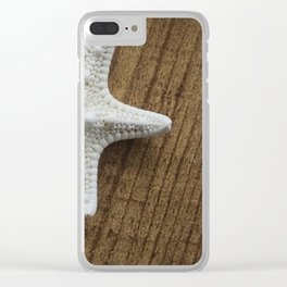starfish 9 Clear iPhone Case