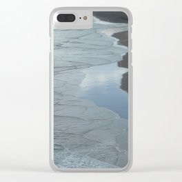 Westcoast textures Clear iPhone Case