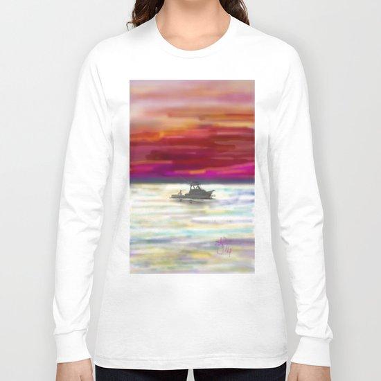 Fishing in Neon Long Sleeve T-shirt