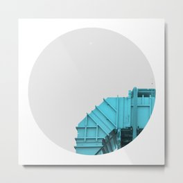 Air intake/ Cian Metal Print