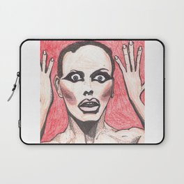"""Alyssa Edwards; """"She was the one backstabbing me behind my back!"""" Laptop Sleeve"""