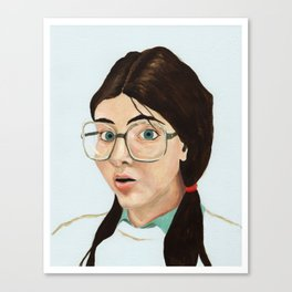 Yearbook 80, Science Lab Canvas Print
