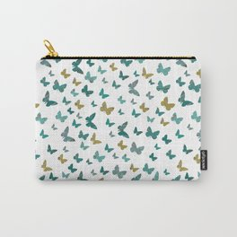 butterflies_yellow Carry-All Pouch
