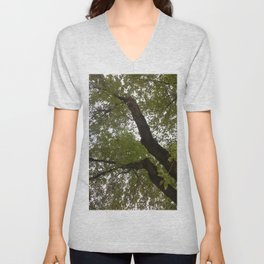 Tree and light III Unisex V-Neck