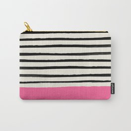 Watermelon & Stripes Carry-All Pouch