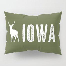 Deer: Iowa Pillow Sham