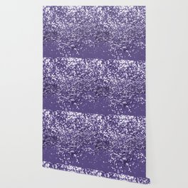 Sparkling ULTRA VIOLET Lady Glitter #1 #shiny #decor #art #society6 Wallpaper