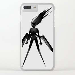 Vengeance. Clear iPhone Case