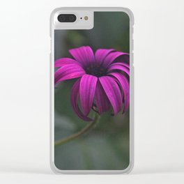 Has been a long day (African Daisy Flower) Clear iPhone Case