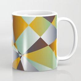 Geometrics in 1950s retro Coffee Mug