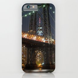 Williamsburg Bridge Brooklyn, New York City iPhone Case
