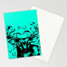 Deer Color Stationery Cards