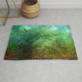 """""""The Enchanted Forest"""" (Fairyland) Rug"""