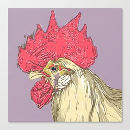 Rooster IV Canvas Print