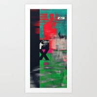 sex and the city Art Prints featuring Sex by Alec Goss