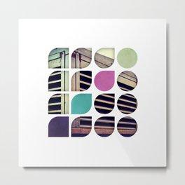 Cold Comfort Collage — Bunker Metal Print