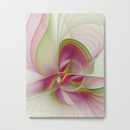 Another Colorful Beauty Abstract Fractal Art Metal Print