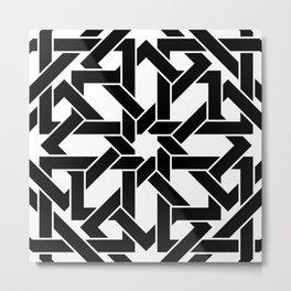 Moroccan Pattern 2 Metal Print