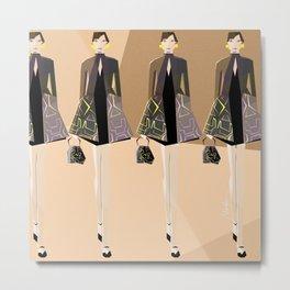 Fashion Ar Metal Print