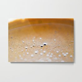 Close-up of a cup of coffee Metal Print