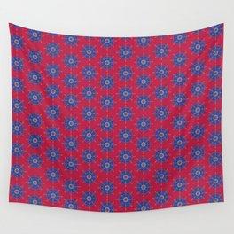 Ruby Mandalas Wall Tapestry