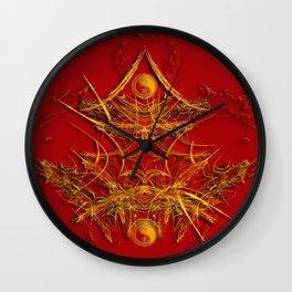 Chinese Art Wall Clock