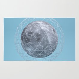 Moon in the cage Rug