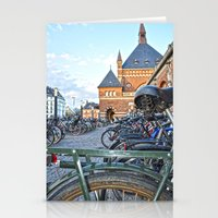 bicycles Stationery Cards featuring bicycles by  Agostino Lo Coco