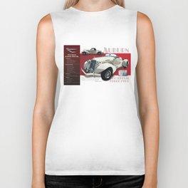 1936 Auburn Boattail Speedster Spec Poster Biker Tank